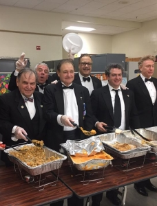 A Thanksgiving Dinner for Veterans at the VA Hospital