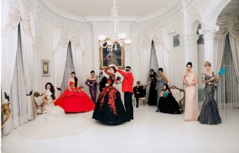 "The ""Rapture"" Photo Shoot at Nottoway Plantation and Resort A Masquerade Affair"
